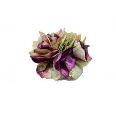 Broche de Flor preservada Hortensia Cardenal