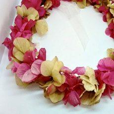 coronas de flores tocados