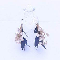 pendientes de flor de Eucalipto yPaniculata