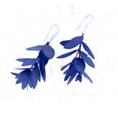 Pendientes flor de Eucalipto Parvifolia