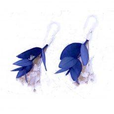 Pendientes flor de Eucalipto y Paniculata
