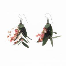 pendientes flor Ramillete, Parvifolia y Broom