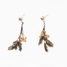 pendientes flor Limonium Lila y Paniculata