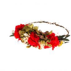 corona flores Pilar