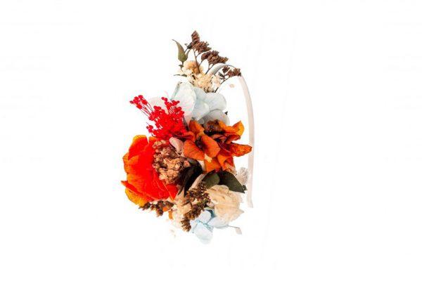 Diadema de Flores Pregonda